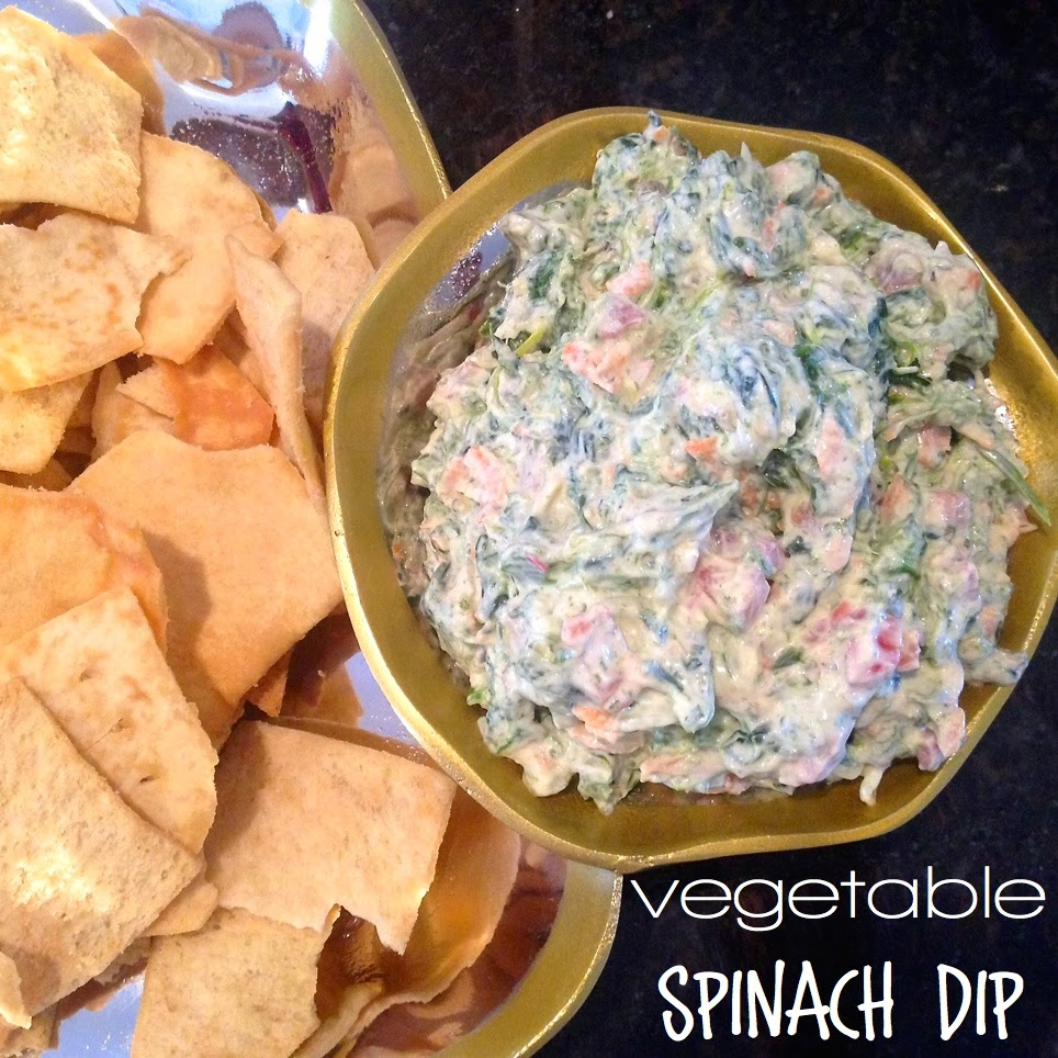vegetable spinach dip